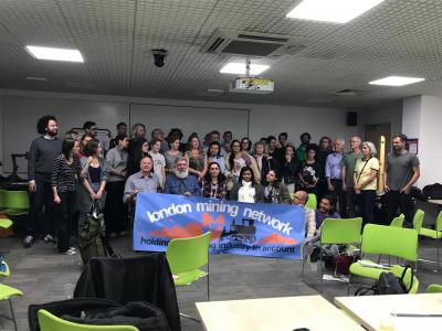 Student meeting while in London